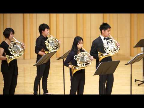 "James Horner : Titanic-Tribute to TNUA Horn Section  ""My Heart will go on"""