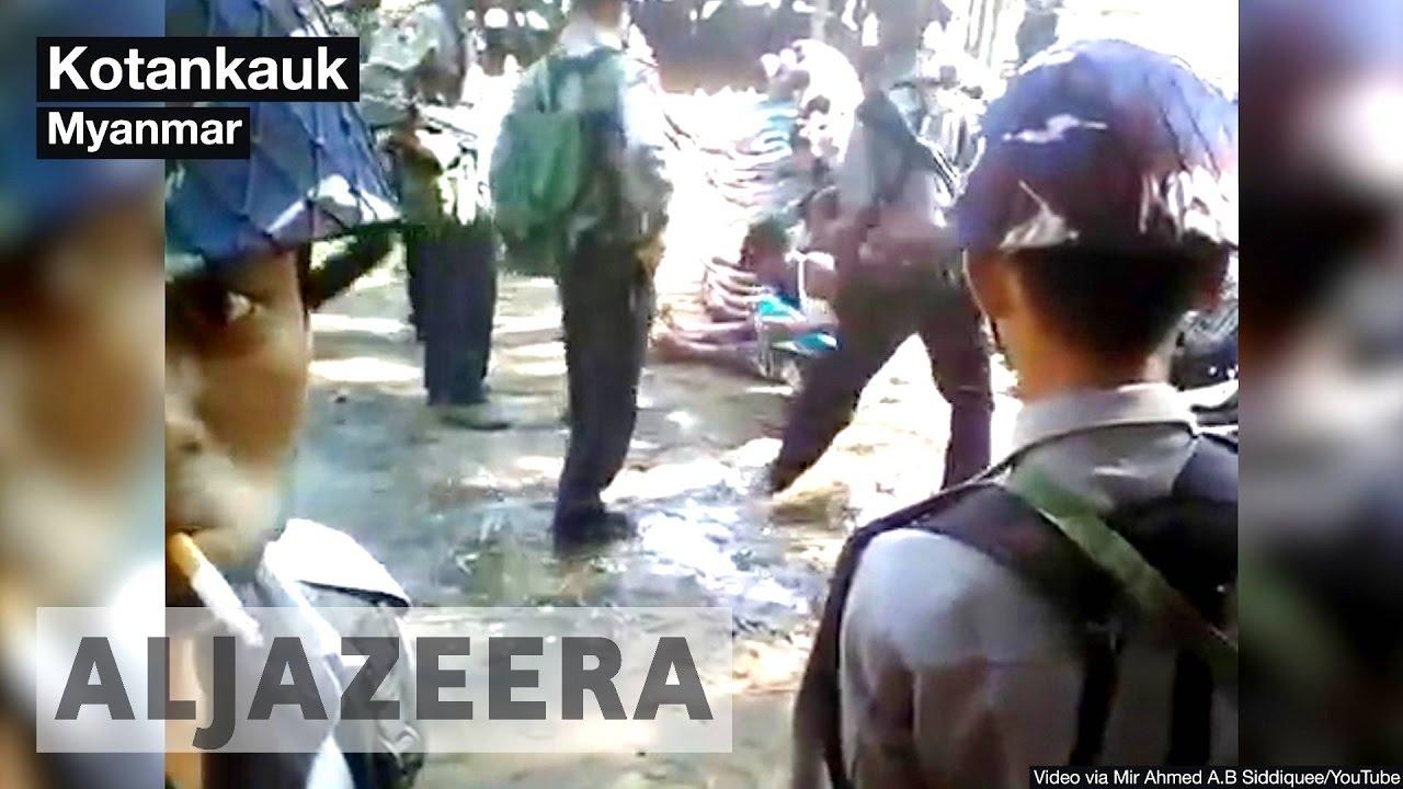 Rohingya abuse by Myanmar border police