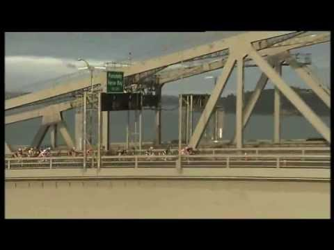 Cycle over the Auckland Harbour Bridge