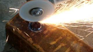 Как сделать отверстие в металле,в безвыходной ситуации без профинструмента