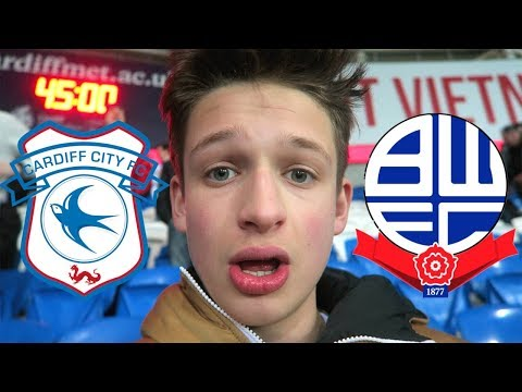 CARDIFF CITY VS BOLTON *VLOG* - TERRIBLE. ABSOLUTELY TERRIBLE.