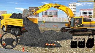 Excavator Simulator Construction Road Builder (by Level9 Studios) Part 2 Android Gameplay [HD]