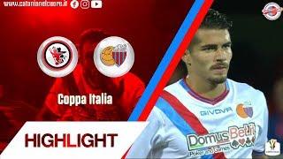 Coppa Italia 2018-19 Foggia-Catania 1-3