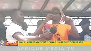 MALI : MANIFESTATION CONTRE LA RÉÉLECTION DE IBK.