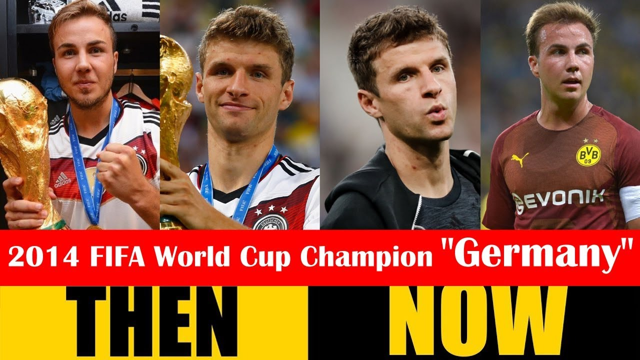 2014 FIFA World Cup Champion Germany Then and Now 2018 HD - YouTube 889c0100d0529