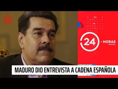 """Nicolas Maduro: """"Aquí no ha habido detención de periodistas"""""""