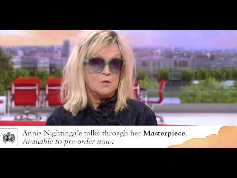 Masterpiece: Annie Nightingale on BBC Breakfast
