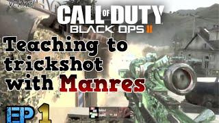Teaching to Trickshot With Manres ep.1