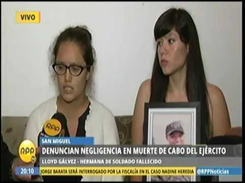 DENUNCIAN NEGLIGENCIA EN MUERTE DE CABO DEL EJÉRCITO