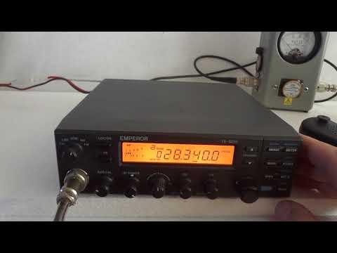 Emperor 5010 (Midland Alan 9001) 10 meter & 11 meter all mode ham radio
