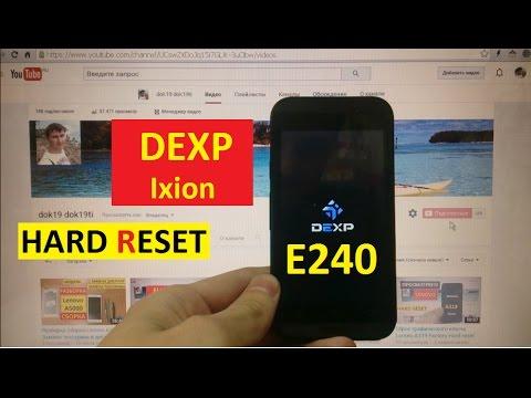 Dexp Ixion E240 скачать прошивку - фото 10