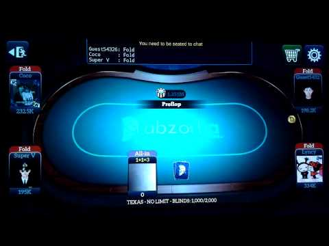 Abzorba Live Poker Weekly Leader Board Cheats
