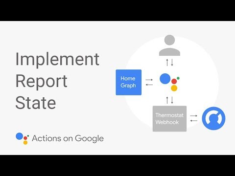 Report State | Actions on Google Smart Home | Google Developers
