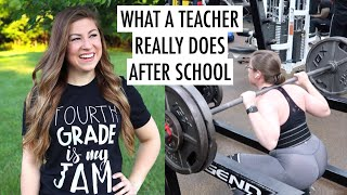 Behind the Scenes Vlog | A Week in the Life of a Teacher - What I Do After School