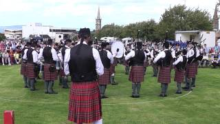 Police Service Of Northern Ireland Pipe Band Bangor 2013