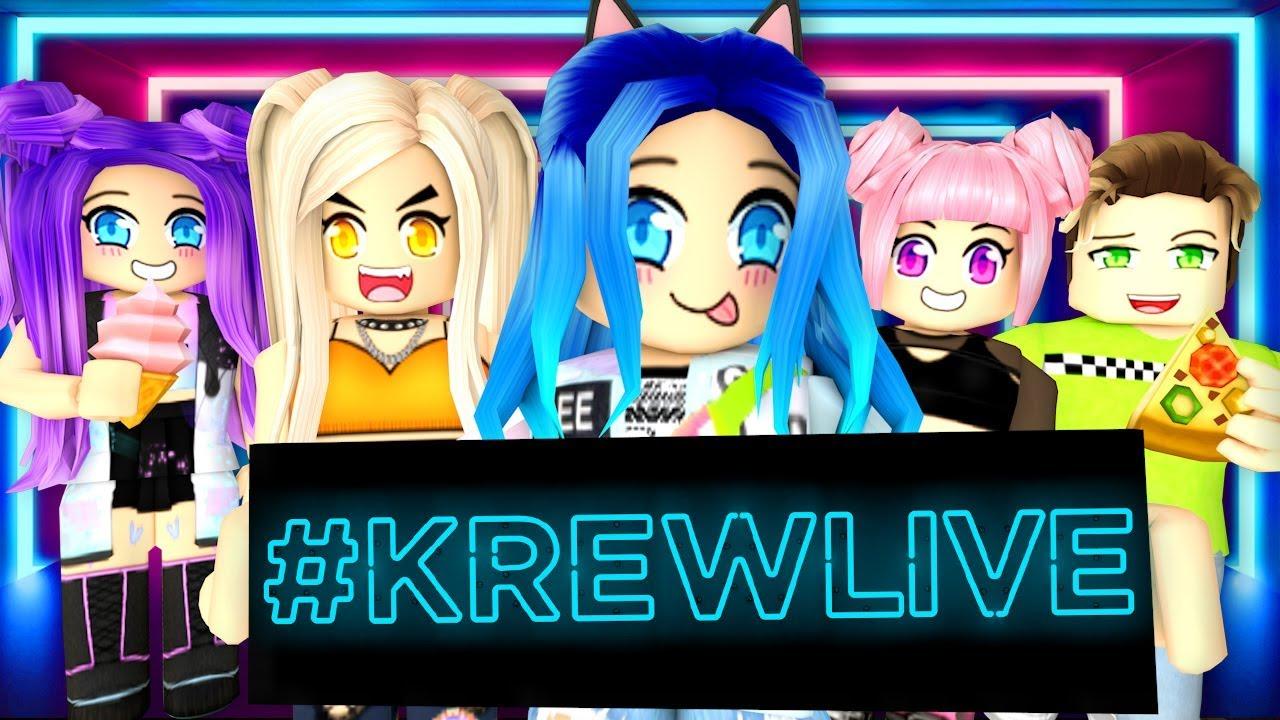 Krewlive We Re Back Youtube