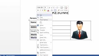 Ms Word Me Resume Kaise Banaye