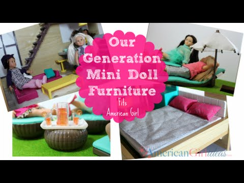 Lori by OG Mini Doll Furniture Review - YouTube