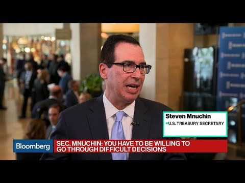Mnuchin Says U.S. Doesn't Want to Put Rusal Out of Business
