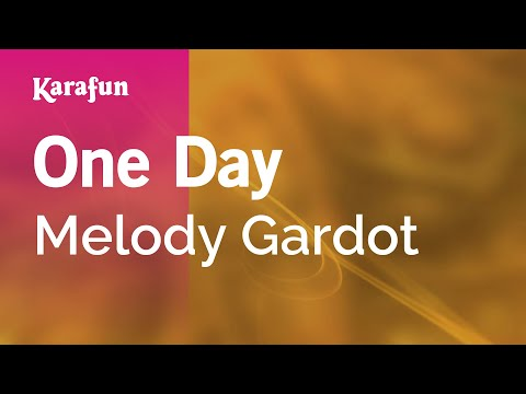 Karaoke One Day - Melody Gardot *