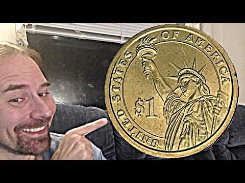1 Dollar 2008 D James Monroe Presidential Dollar
