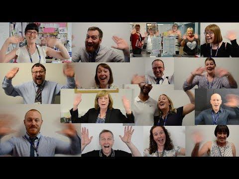 Beckfoot School Year 13 leavers video 2018