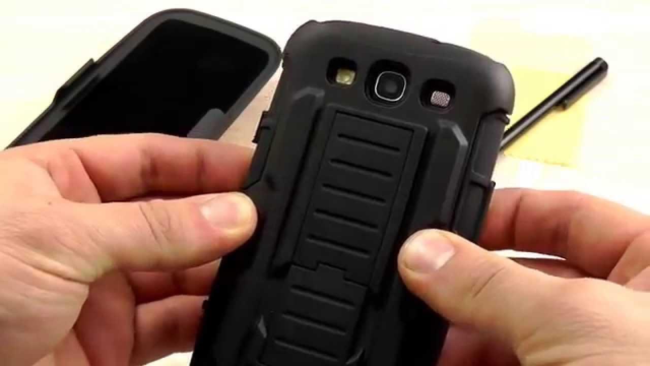 ОБЗОР: Шикарный Кожаный Чехол-Книжка для Samsung Galaxy A3 (A310 .