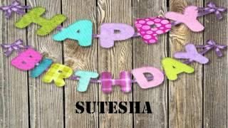Sutesha   wishes Mensajes