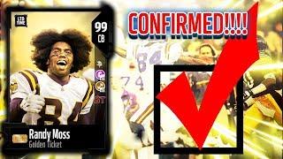 golden ticket cb randy moss confirmed madden 18 ultimate team