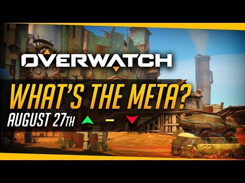 Overwatch | Best Heroes for Season 6? - What's The Meta (27th August) [PC]