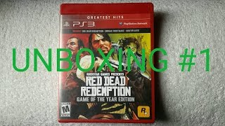 Red Dead Redemption Game Of The Year Edition PS3 Unboxing #1 en Español