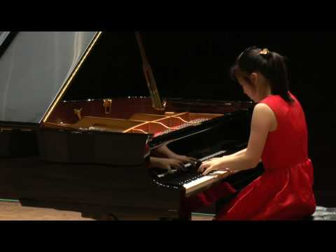 Yongqiu Liu, CHINA. Semi-Finals, e-Piano Junior Competition 2017