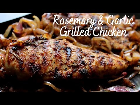 Rosemary And Garlic Grilled Chicken Recipe Without Oven Or Microwave Convection