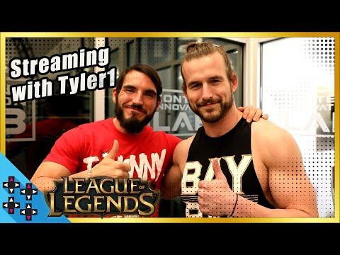 Behind-the-scenes of ADAM COLE and JOHNNY GARGANOs LEAGUE OF LEGENDS stream with TYLER1!