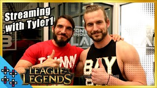 Behind-the-scenes of ADAM COLE and JOHNNY GARGANO's LEAGUE OF LEGENDS stream with TYLER1!