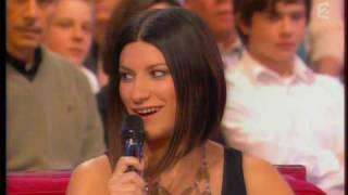 Laura PAUSINI & Charles AZNAVOUR Vivement Dimanche France 2 (18-01-2009) Paris au mois d