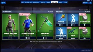*NEW*Banner Brigade Set & Free Banners ! Fortnite Item Shop July 18, 2019