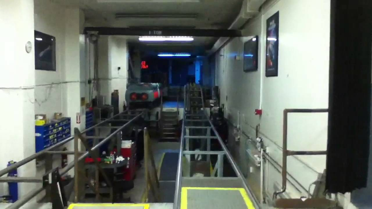 Backstage At Disneyland Space Mountain Behind The Scenes