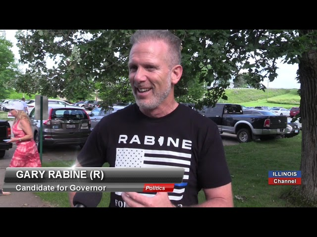 Illinois Channel: Republican Gary Rabine on His Run for Governor