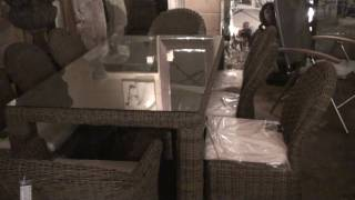 alexander rose garden tables and chairs for sale
