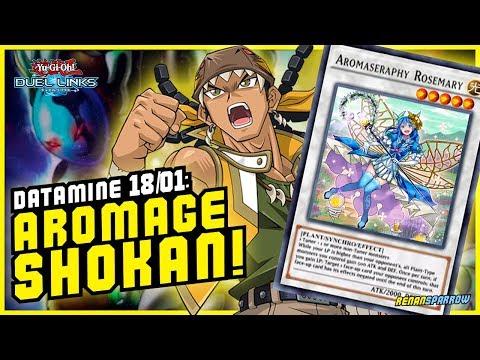 AROMAGE SHOKAN! (datamine 18/01) - Yu-Gi-Oh! Duel Links #580