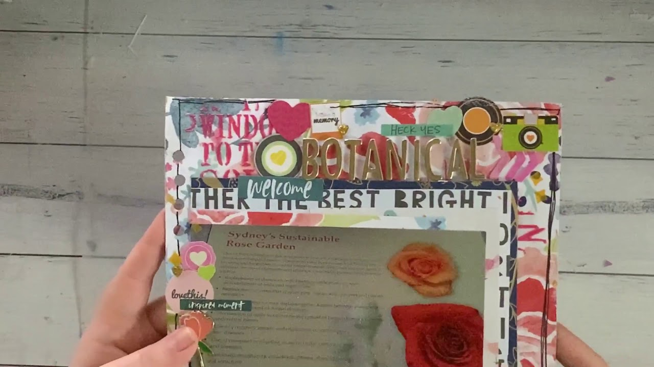 Scrapbooking layout share May 2020 - YouTube