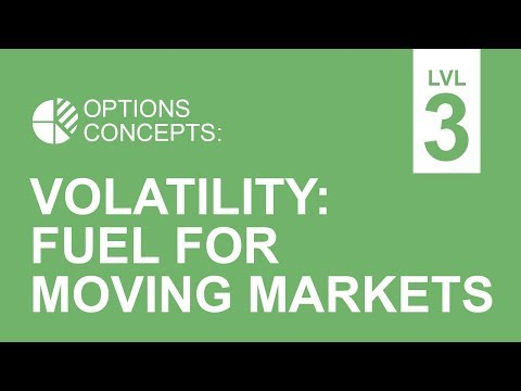 Volatility: Fuel For Moving Markets