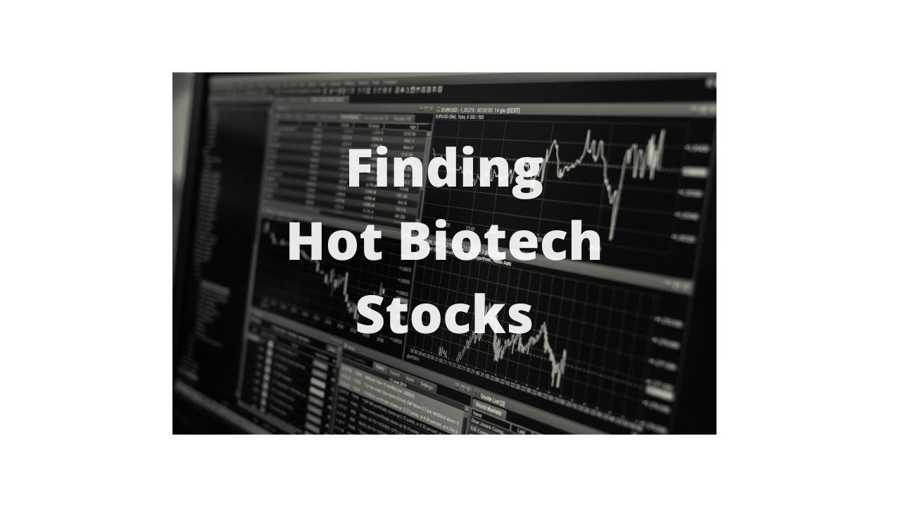 Finding Hot Biotech Stocks $NVAX $CBAY - YouTube