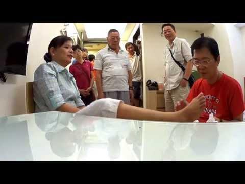 臺北慈善施治,幾十年的中西醫治不好的病痛,神手摸摸就好了 Taipei Charity Healing Event