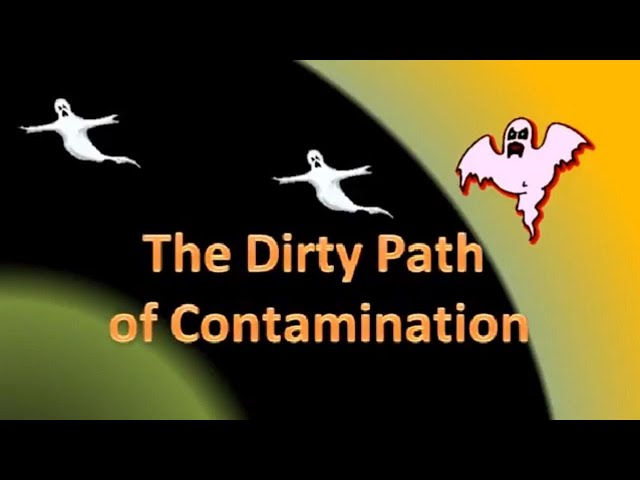 The dirty path of contamination