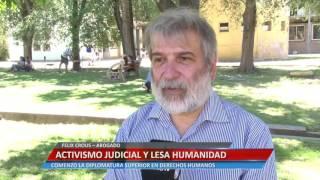 Activismo judicial y lesa humanidad - Felix Crous