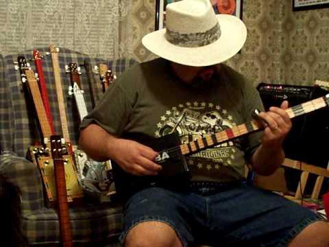 Cigar Box Guitar #145 by Back porch Mojo