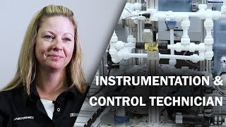 Job Talks - Instrumentation and Control Technician - Melissa Explains What it is