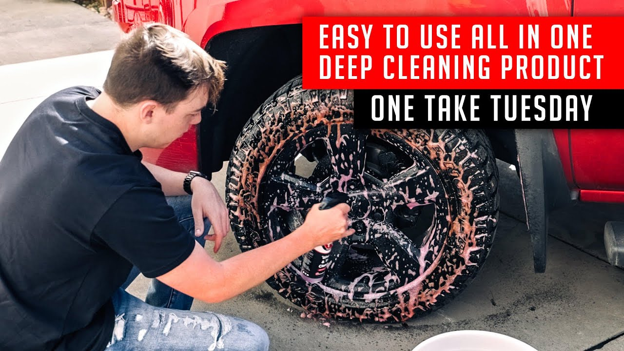 Clean Your Wheels Tires And Weathertech Floor Mats At The Same
